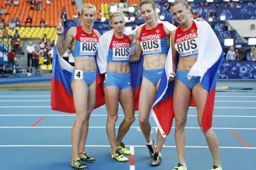 Отнеха световната титла на руската женска щафета
