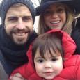 Семейният албум на Шакира и Жерар Пике