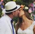 Бекъм, Пит и Клуни уважиха сватбата на Гай Ричи