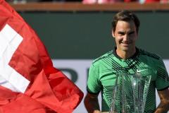 Роджър Федерер триумфира в Индиън Уелс