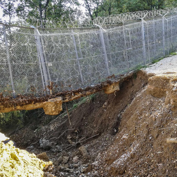 Резултат с изображение за Оградата на границата