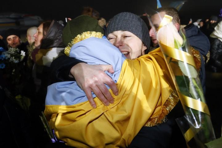 Вчера бе извършена размяна на пленници между украинските власти и