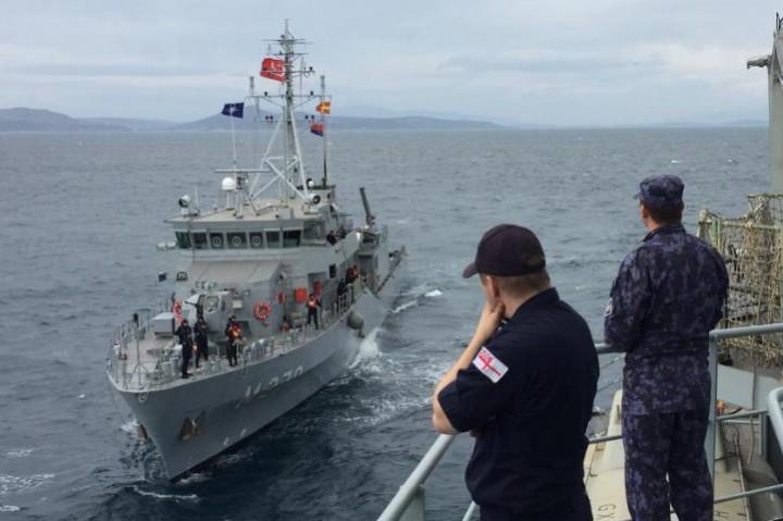 Втората постоянна противоминна група кораби на НАТО (SNMCMG2) под командването