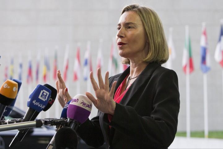 Това съобщи върховният представител на ЕС за външната политика и
