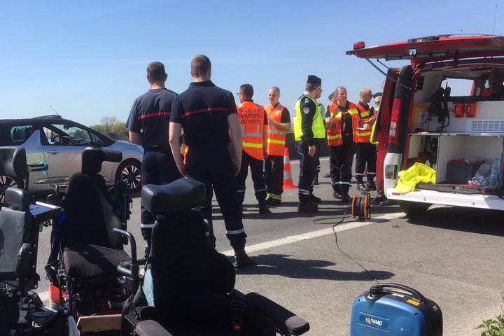 Пет от децата са сред пострадалите. Трима от ранените са
